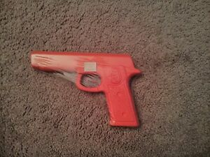 Rubber-Gun-Training-Pistol-Police-Self-Defense-Martial-Arts-Karate-Equipment-New