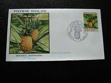 POLYNESIE - enveloppe 1er jour 9/1/1991 (cy31) polynesia