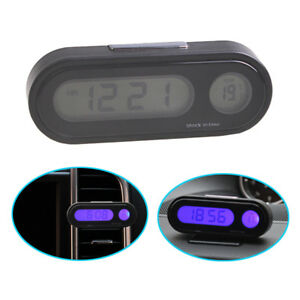 Q94-2in1-Digital-Auto-Uhr-Temperatur-Thermometer-LCD-Display-Klimaanlage-Lueftung