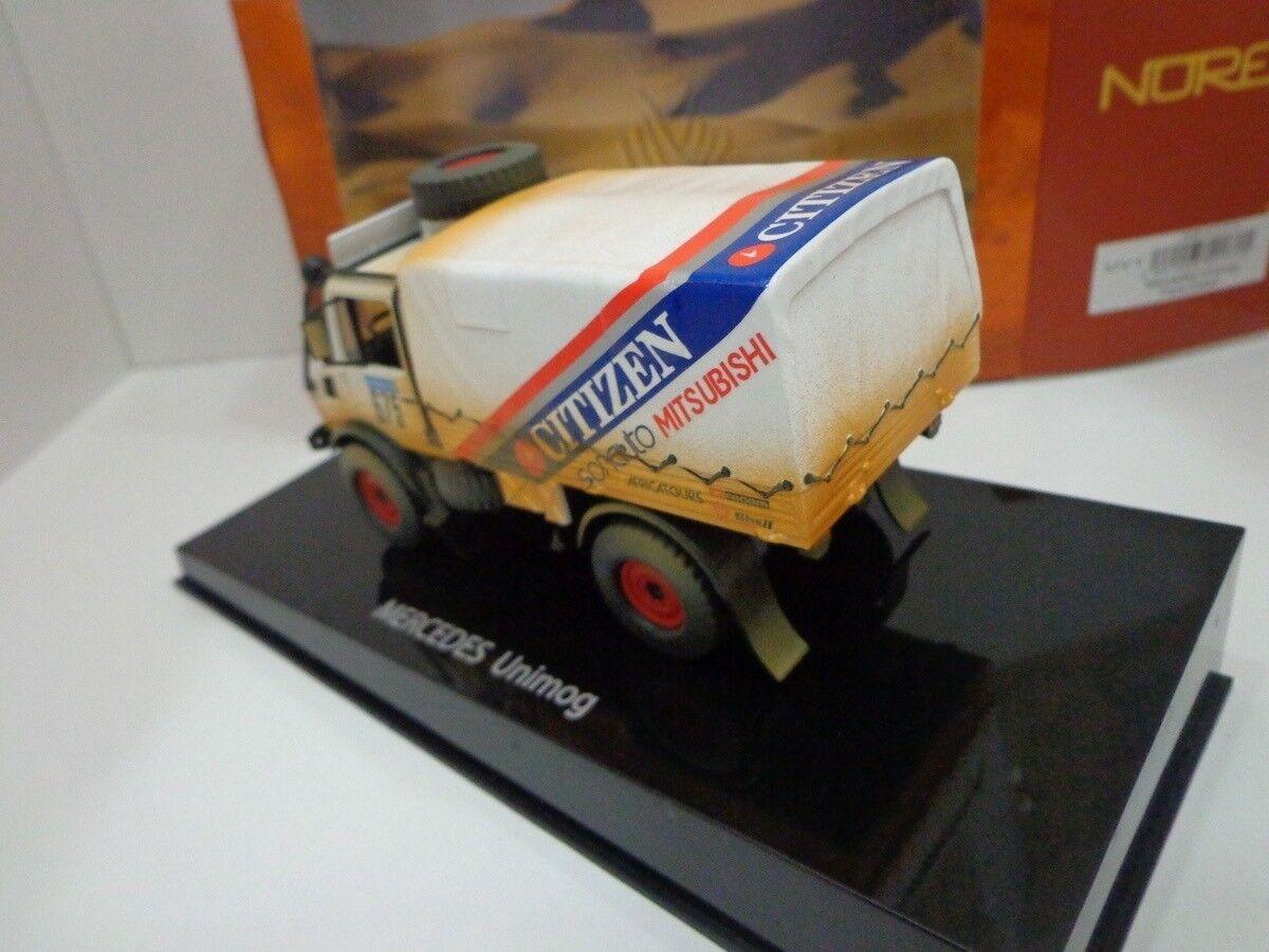 MERCEDS BENZ Unimog Rallye Paris Dakar 1988 351171 1 43 NOREV