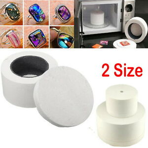 Ceramic Fibre Small Microwave Kiln Stained Glass Fusing Supplies Professional Z