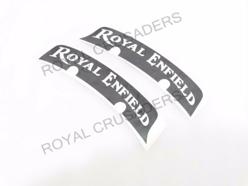 BRAND NEW ROYAL ENFIELD NUMBER PLATE STICKERS SET OF 2 @JUSTROYAL
