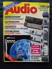 AUDIO 4/97 MISSION 752,ELAC ELT 10,TANNOY PLUS 635,CHARIO 100 T,MB QL A 22