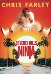 Brand-New-WS-DVD-Beverly-Hills-Ninja-1997-Chris-Farley-Widescreen