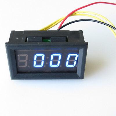DC4.5-30V Car Dashboard Digital Led Display Hour Minute Second Panel Clock Meter