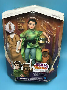 PRINCESS LEIA /& WICKET star wars forces of destiny doll ENDOR ADVENTURE figures