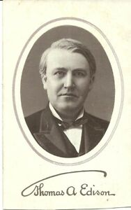 THOMAS-A-EDISON-PHOTO-C1910-WITH-ADVERT-FOR-GOLD-MOULDED-RECORDS-ON-BACK