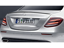 Mercedes W213 E Class Saloon Limo Boot Trunk Lid Spoiler OEM MERCEDES-BENZ AMG