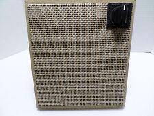 Vintage Retro Mid Century Speaker Cabinet, ZENITH SPEAKER - NICE SHAPE