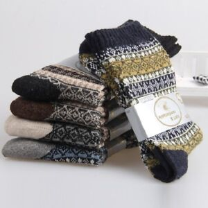 Mens-Socks-Wool-Cashmere-Cotton-Socks-Comfortable-Warm-Winter-Thick-Socks