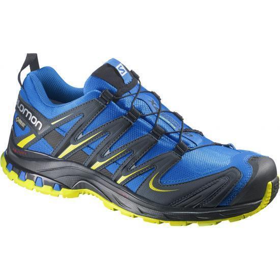 Scarpe Trail Running SALOMON XA PRO 3D GTX® Bright blu slateblu corona yellolw