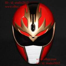 1:1 Costume Cosplay Mask Power Ranger Gosei Sentai Red Dairanger Helmet PR05
