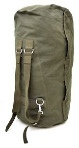 German-Army-Large-Kit-Bag-With-Ruscksack-Straps-Military-Issue-Heavy-Duty-Canvas