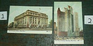 2 POSTCARDS 1910 P.A. & S. Small Co. York Pa. L & M Paint John Sterner Starner