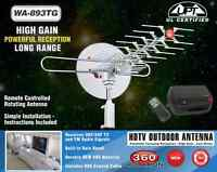 Boostwaves Rotating Amplified Hd Digital Outdoor Hdtv Antenna Motorized Wa-893