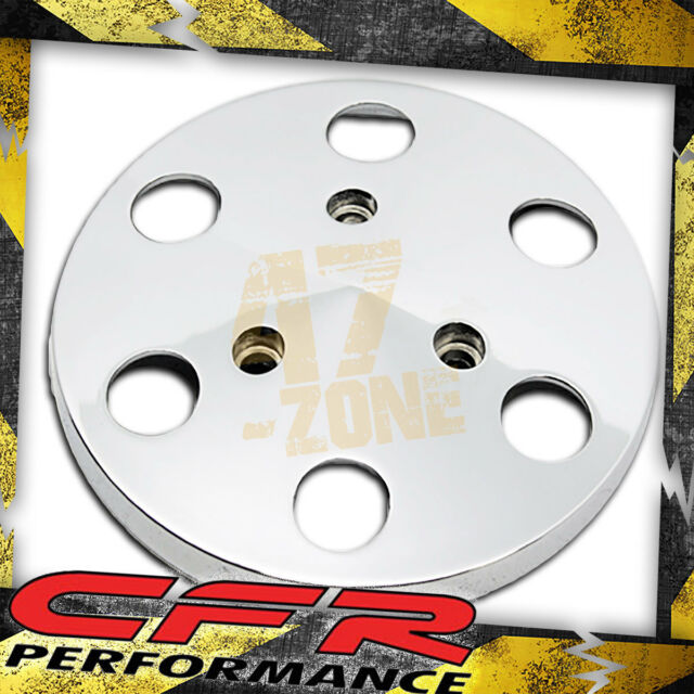 Chrome AC Air Condition Clutch Cover Pulley Cover Fits Sanden #508 Compressor