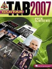 GUITAR TAB 2007 (Guitar Recorded Versions) Hal Leonard Corp. Paperback