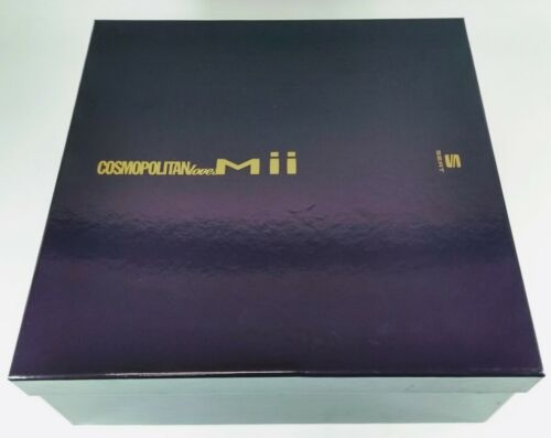 NEW GENUINE SEAT Mii COSMOPOLITAN LOVES Mii ACCESSORY GIFT MERCHANDISE SET