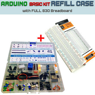 Arduino Electronic Kit Project REFILL CASE [In plastic case 15 comp] EUROPE Ship