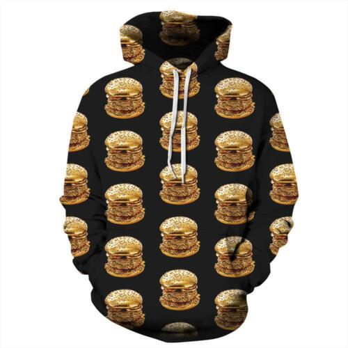 new 3D Graphic Print Men Women Pullover Top Hoodie Jacket Sweater Sweatshirt