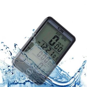 LCD-Bike-Computer-Speed-Odometer-Waterproof-Speedometer-Cycle-Bicycle-SD-576A-NY