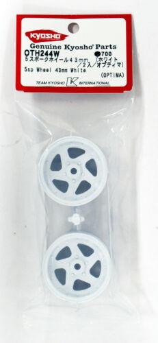 OPTIMA Kyosho OTH244W 5sp Wheel 43mm White