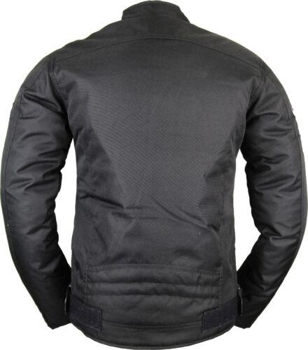 Señora textil motocicleta chaqueta protectores chaqueta viento denso entallado corte