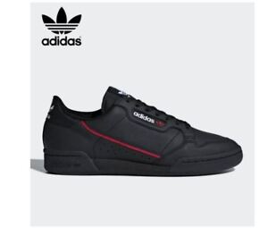 a95c9f70931f Image is loading Adidas-Originals-Continental-80-039-s-Black-Fashion-
