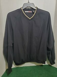 Grandslam Men's Golf Jacket Large Long Sleeve Zip Off Short Sleeve Pull Over