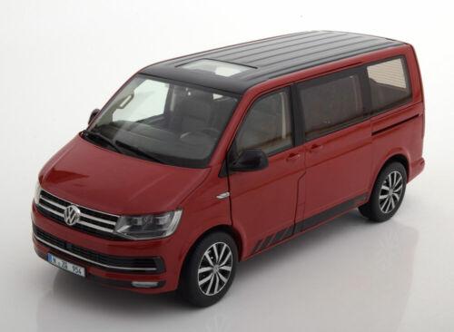 1:18 NZG VW Multivan T6 Edition 30 2015 red//black
