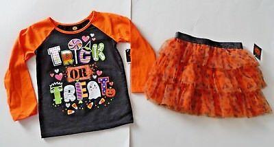 Gymboree Girls Halloween Boo Crew Tee /& Leggings Set NWT NEW 2T 4T 5T