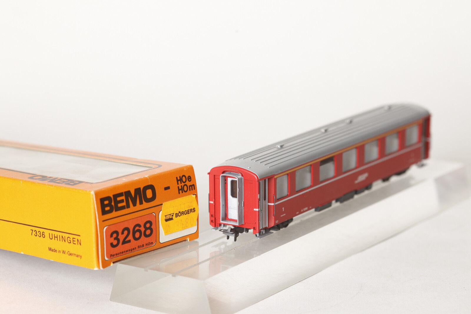 Bemo h0m 3268 RhB RHäTISCHE BAHN a 1256 Red 1. class (71659)