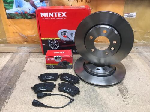 MINTEX VW TRANSPORTER T5 1.9 2.5 FRONT REAR VENTED MINTEX BRAKE DISCS PADS SET
