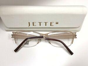 Jette-Fassung-7521-col-1-mit-Etui-Brille-Eyeglasses-Frame-Lunettes