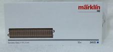 Märklin 10 x 24172 rechte C rails 17,20 cm nieuw in doos