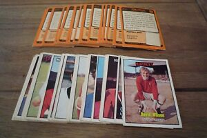 A&BC Orange Back Football Cards 1970 - THIRD Series VGC! Pick The Cards You Need