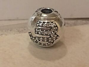 a146c33b8 New w/BOX Pandora ESSENCE Virgo Virgin Zodiac Sterling Silver CZ ...