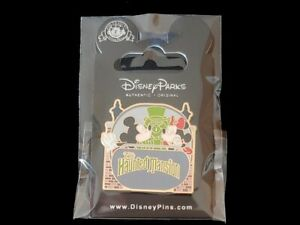 Disney-Pin-Attractions-Mickey-Minnie-Kissing-Haunted-Mansion-Doom-Buggy-Ghost