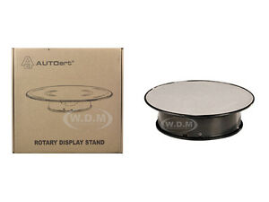 ROTARY-DISPLAY-TURN-TABLE-8-INCHES-SILVER-TOP-1-24-1-43-1-64-1-32-AUTOART-98018