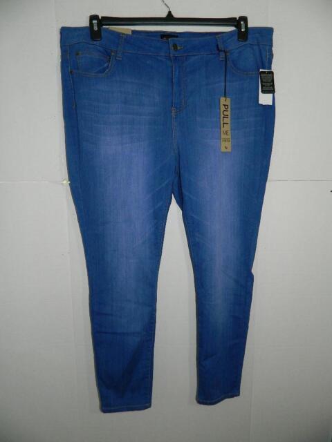 a419b426d3c WPA1715 Celebrity Pink Women s Plus Skinny Leg Jeans NWT Size 24 X 29 MSRP   54