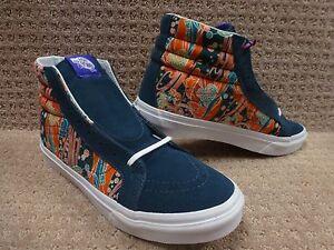 hi 5 blancas liberty Mar Entallado Size Sk8 Hombre Floral Zapatos Vans 8 8Xv6w