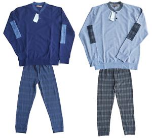 FERRUCCI. Man Pajamas winter Warm Cotton 100%. mod. Serafino. 2633 UTOPIA