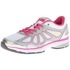 Ryka 8317 Womens Fanatic Plus White Running, Cross Training Shoes 6 Medium (B,M)