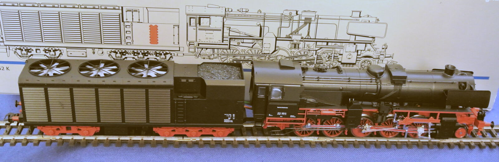 37171 Insider h0 Digital scie locomotiva br52_19 11 mattoncini in scatola originale