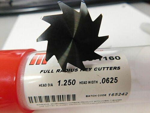 ITI 1-1//4X.0625X.25X2.75 Carbide Head Key cutter 80-1160