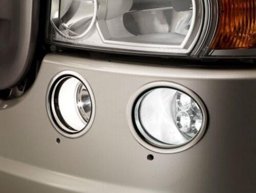 4 Ringe Edelstahl Stahl Vorne Nebelscheinwerfer Dekorationen für Scania R Serie