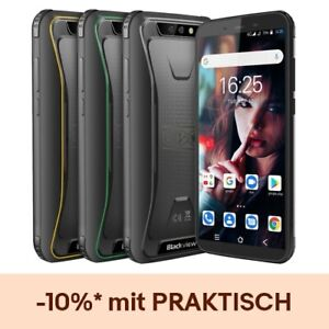 Blackview BV5500 Plus 4G Outdoor Handy Ohne Vertrag Android 10.0 IP68 Smartphone