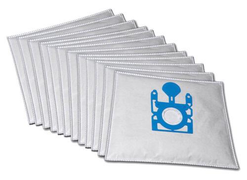 10 Staubsaugerbeutel passend für Siemens Dino E Super XS mit Plastikverschluss