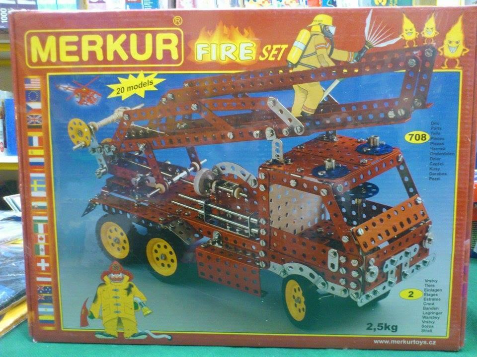 MERKUR FIRE SET - 708 pcs - 20 models
