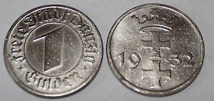 1-DANZICA-Gulden-1932
